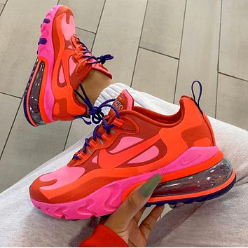NIKE AIR MAX 270 REACT Big air cushioned running shoes