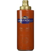 Ghirardelli Caramel Flavored Sauce Squeeze Bottle, 17 Ounce - Walmart.com