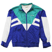 Vintage 90s Adidas Windbreaker Jacket Mens Size Medium