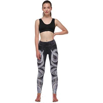 High Waist Compression Athletic Yoga Pants for Workouts