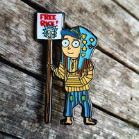 Bielanski's Wook Morty OE Glitter Rick and Morty Hat Pin