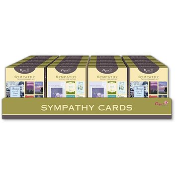 PaperCraft 10 Ct. Boxed Greeting Cards - Sympathy