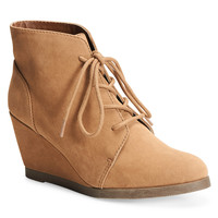 Madden Girl Domain Lace-Up Wedge Boot