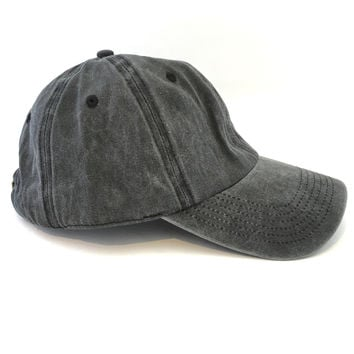 Batters Up Hat In Charcoal Grey