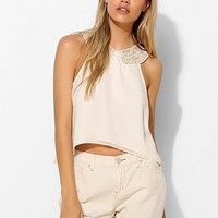 One Rad Girl Cindy Lace-Collar Tank Top - Urban Outfitters