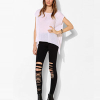 Stretchable Ripped Leggings