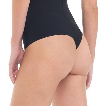 Classic High Rise Control Thong Shapewear - Nude or Black