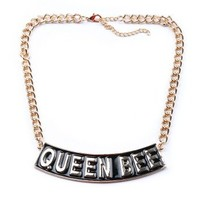 Queen Bee Necklace - Trendy Jewelry at Pinkice.com