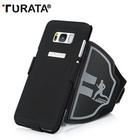TURATA Sport Running Arm Band Phone Case For Samsung Galaxy S8 / S8 Plus Phone Case for Samsung S8 S8+