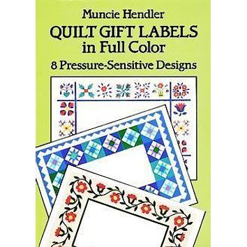 8 Quilt Gift Labels - Limited Supply!