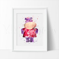Hallie, Doc McStuffins Watercolor Art Print