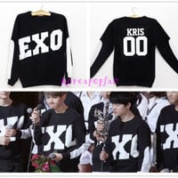 EXO Miracles in December XIUMIN LUHAN SEHUN CHANYEOL BLACK SWEATER KPOP EXODUS