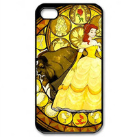 Disney Beauty and The Beast iPhone 4/4S/ 5 Case by cocotkirik