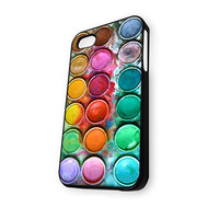 Watercolor Set iPhone 4/4S Case