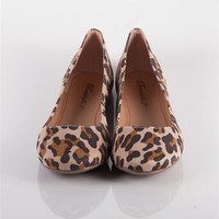 Suede Round Toe Flats - Leopard at Lucky 21 Lucky 21