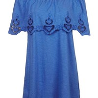 Cutwork Bardot Dress - New In This Week - New In