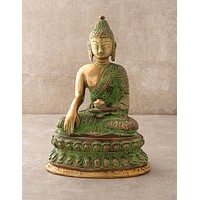 Brass and Copper Medicine Buddha Statue