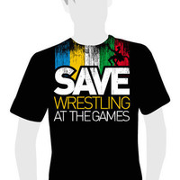 Save Wrestling at the Games - CMPclothing
