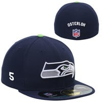 New Era Seattle Seahawks Men's Customized On-Field 59FIFTY Football Structured Fitted Hat
