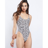 Michelle Leopard Swimsuit