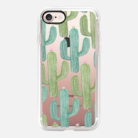 Desert Cactus  Print iPhone 7 Case by Ambers Textiles   Casetify