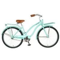 Hollandia  Holiday F1 Cruiser Bicycle, 26 inch wheels, 11 inch frame, Women's Bike, Mint Green