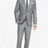 MICRO TWILL PHOTOGRAPHER SUIT from EXPRESS