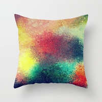Outdoor pillow Double-side print Pillow or pillowcase Square pillow Abstract style Color practice