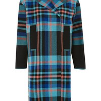 Bright Checked Coat - New In Fashion - New In