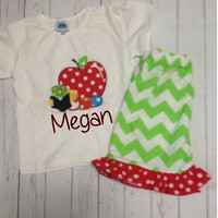 Back to School Chevron Outfit