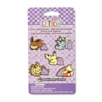 Ditto As... Eevee Vaporeon Pikachu Jolteon Flareon Pokémon Pin (5-Pack)