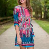 Lasting Whimsy Dress, Pink