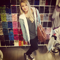 blonde, converse, cool, gangster, girl - inspiring picture on Favim.com