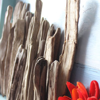 Rustic Driftwood Pieces for Home decor , Beach Wedding Decoration and Coastal Room Design , Drift wood Craft Supplies DCS21
