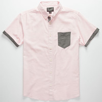Retrofit Nathan Mens Shirt Pink  In Sizes