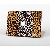 """The Vector Brown Leopard Print Skin Set for the Apple MacBook Pro 15"""" with Retina Display"""
