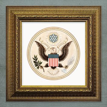 Seal of the United States by Andrew Graham Giclée Print