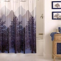 forest shower curtain - Google Search