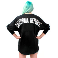 California Republic Authentic Game Day Football Jersey by J. America