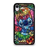 LILO & STITCH STAINED GLASS iPhone XR Case