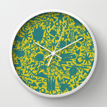 Synapses Wall Clock by Nick Nelson