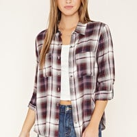 Plaid Pocket Shirt | Forever 21 - 2000170187