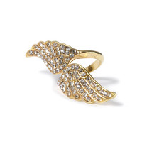 Double Wings Wrap Ring