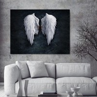 Picture Wall art canvas painting Wing posters and prints the powerful wing home decoration painting art print on canvas No Frame