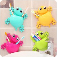 Bathroom Sets Cartoon Toothbrush Holder Toothpaste Container