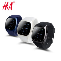 Waterproof Smartwatch M26 Bluetooth Smart Watch With LED Alitmeter Music Player Pedometer For Apple IOS Android Smart Phone 8955