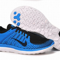 """""""NIKE"""" Net surface breathable sneaker soft-soled running casual shoes Blue"""