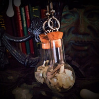 Witches Bottle Protection Earrings