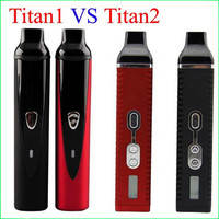 Top quality Hebe Titan 1 2 vaperizer Dry herb Vaporizers e ciga herbal Vaporizer vapor Titan2 1 Vape pens kit with 2200mah battery
