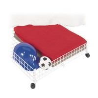 Whitmor Rolling 6.38 in. H x 24.00 in. W x 23.75 in. L Under Bed Cart-6023-304-SW at The Home Depot